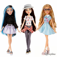 цена High Quality Original Jimusuhutu MC Fashion Girl Doll 28cm 3D Eyes Cosplay Dolls Toys New Year Gift for Girl Collection Toy онлайн в 2017 году