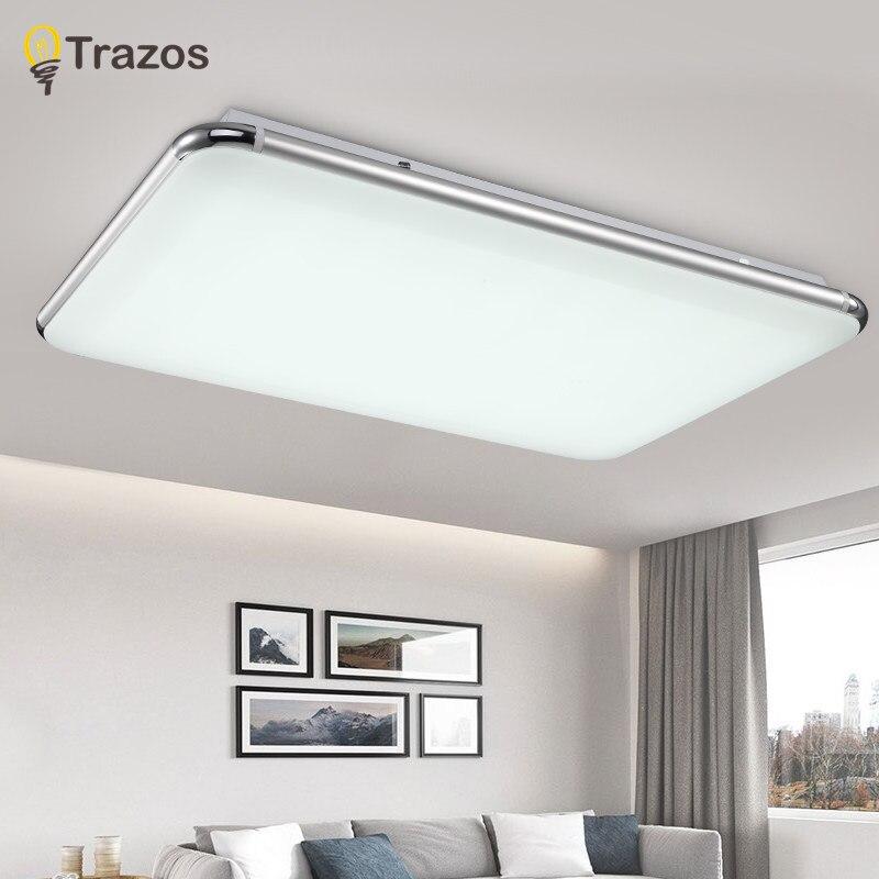 NEW Modern LED Luz de Teto Com 2.4G RF Grupo Controlado Remoto Dimmable Mudando A Cor Da Lâmpada Para Sala Quarto AC90-265v
