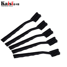 5pcs lot Anti Static Brush ESD Safe Synthenic Fiber Details Cleaning Brush Tool For Mobile Phone Tablet PCB BGA Repair Work cheap Hand Tool Parts Stainless Steel Home DIY Synthetic Fiber ESD free Anti static Mobile Phone Tablet PCB BGA Repair Soldering