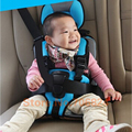 Baby Car Seat, Child Safety Seat,for Baby of 9-36KG and 5-12 Years Old,children's car seat cushion Black and red and blue Color