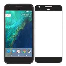 2 Pcs/Lot Full Cover Screen Protector For Google Pixel/Google Pixel XL Full Coverage Protective Film Tempered Glass Retail