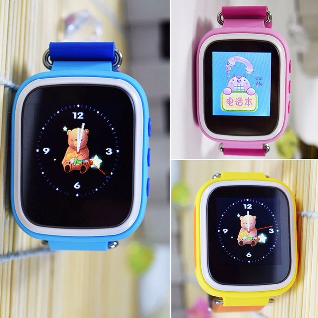 Q80 Children Smart Watch Kids Smart Watch with Anti-lost GPS Tracker SOS Call Location Finder Remote Monitor Parent Control