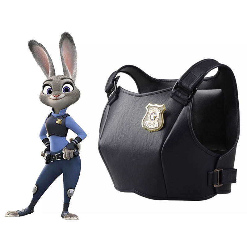 Zootopia Cosplay Costume Zootopia Judy Costume Zootopia Judy Vest Party Costume Halloween Costume for Women