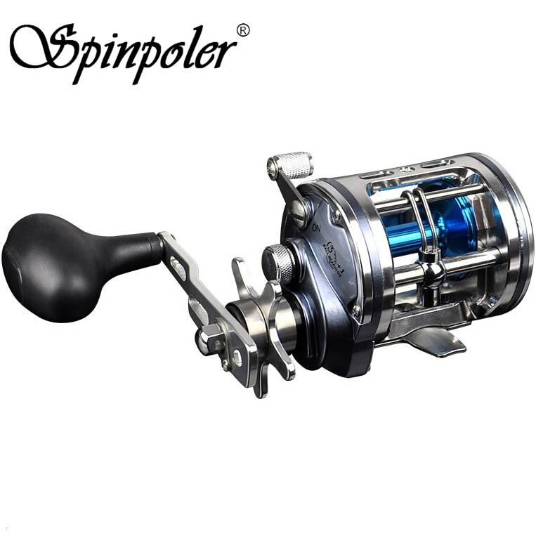 Spinpoler 6 2 1 5 1 1 4BB Metal 12kg Drag Power Sea Fishing Multiplier Reel