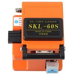 Free shipping SKL-60S fiber optical cutter knife FTTH fiber wire cable cold connection fiber cleaver orange