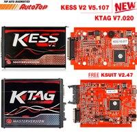 2019 Kess V2 V5.017 OBD2 Manager Tuning Kit KTAG V7.020 4 LED Kess V2 5.017 BDM Frame K TAG 7.020 ECU Programmer KESS V2 Master