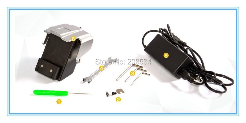 JD16 Batteria Reggiatrice per reggia in plastica PET PP, Reggiatrice - Set di attrezzi - Fotografia 5