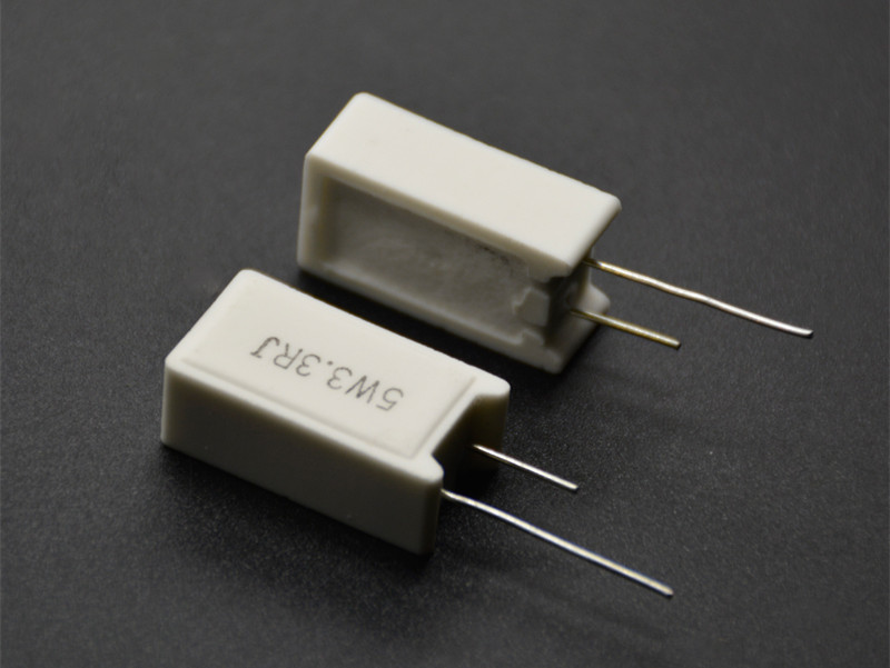 5Pcs SQM RX27-5 Vertical Cement Power Resistor 5W 0.02R 0.05R 0.1R 0.15R 0.2R 0.5R Ohm Ceramic