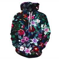 Flower 3D Printed Hoodies Women Hoody Men Sweatshirt Hooded Jumper Coats Tops Tracksuits Unisex Pullovers Sweatshirts XXXL