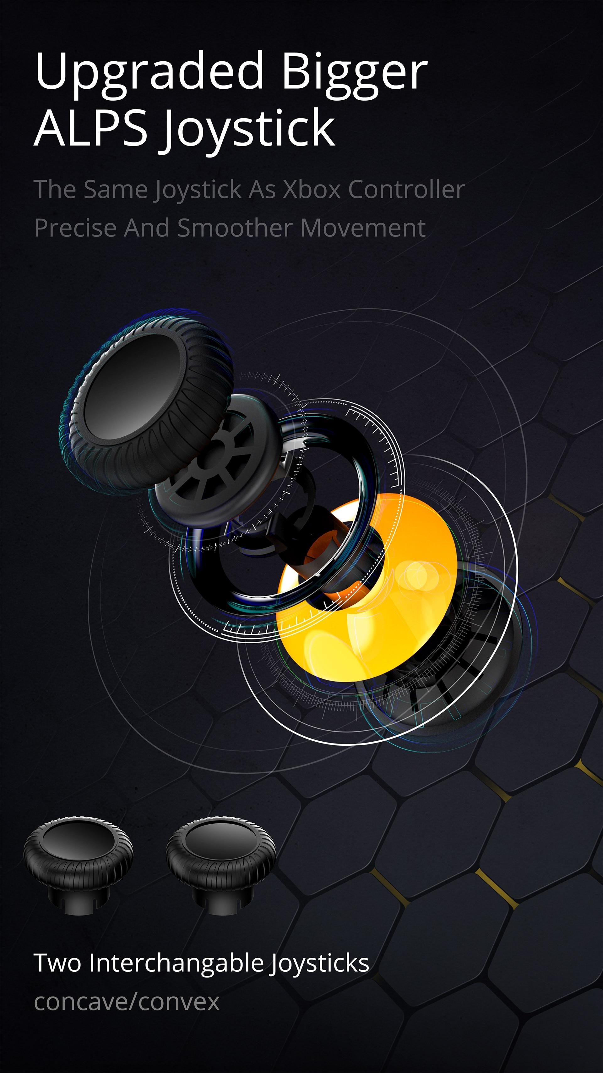 Flydigi Wasp 2 Elite One-Handed Mobile Gaming Controller 9