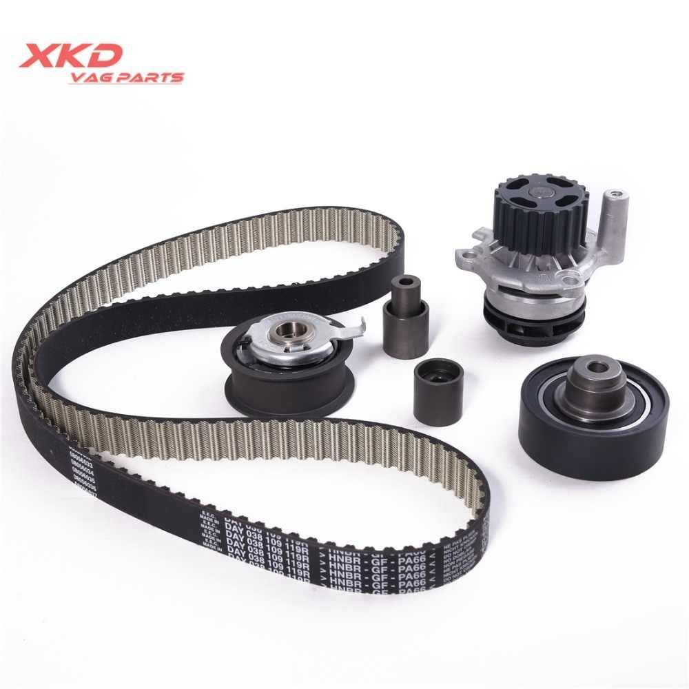 medium resolution of new timing belt kit tensioner water pump fit for vw golf audi a3 1 9 tdi