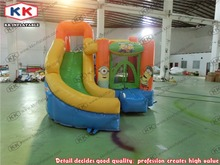 inflatable bouncer and slide for shool small inflatable combo for kids inflatable bouncer with slide for family use