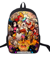 16 Inch Anime Undertale Backpack For Teenagers Boys Girls School Bags Women Men Travel Bag Children School Backpacks Gift