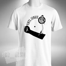 "Super cool ""Vinyl Junkie"" Men's T-Shirt"