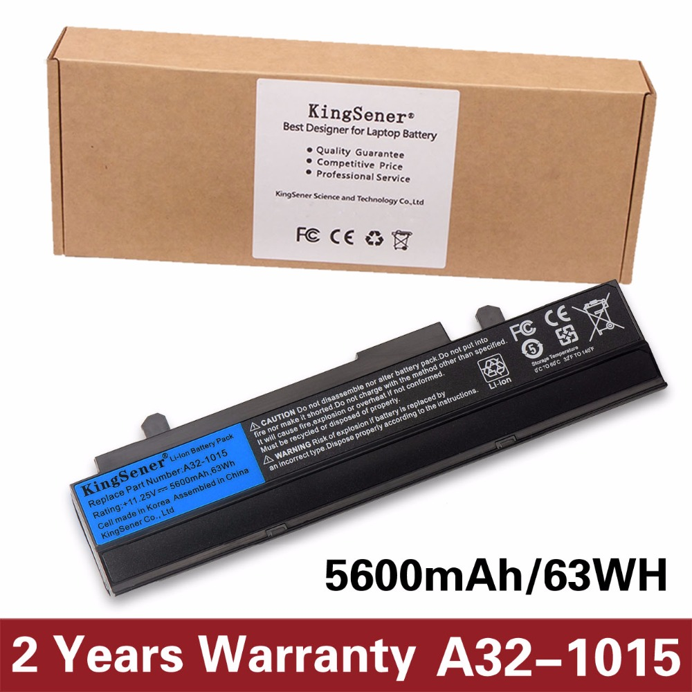 Korea Cell New A32-1015 Laptop Battery for ASUS Eee PC 1015 1015P 1015PE 1015PW 1215N 1016 1016P 1215 A31-1015 11.25V 5600mAh все цены