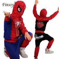 Spiderman Costume For Boys Spider Man Cosplay Costume For Children Clothes Set Halloween Costume For Kids