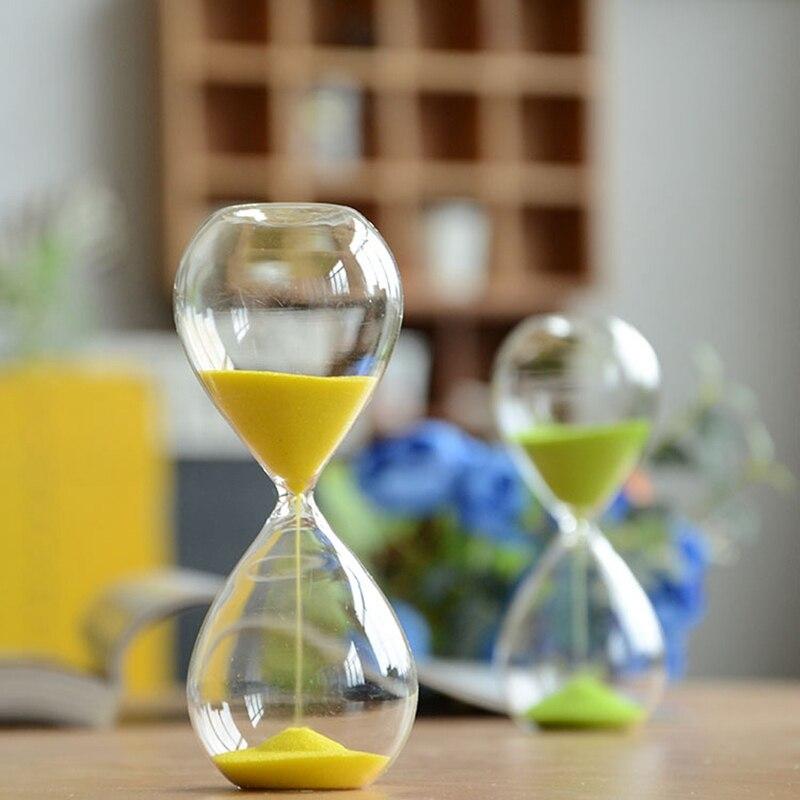 timer da 3 3 minuti 2 clessidra in acrilico da 1 5 minuti per t/è//caff/è 1 2 Weiye 3 min. 4 clessidra
