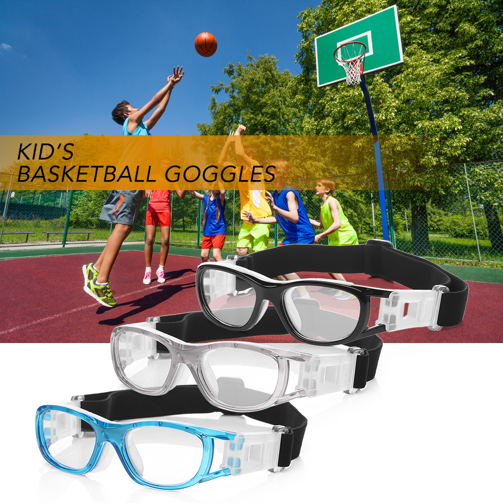 Professional Kid's Basketball Goggles Protective Glasses Outdoor Football Soccer Eyewear Eye Protector Sports Safety Goggles