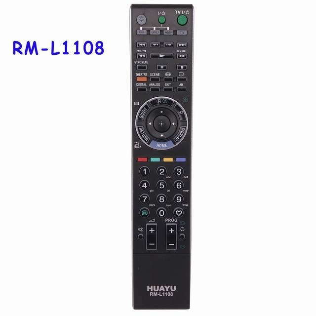 Mando a distancia RM L1108 para SONY, Mando de TV LCD LED con KDL 40XBR de retroiluminación para SONY TV RM ED033 GA019