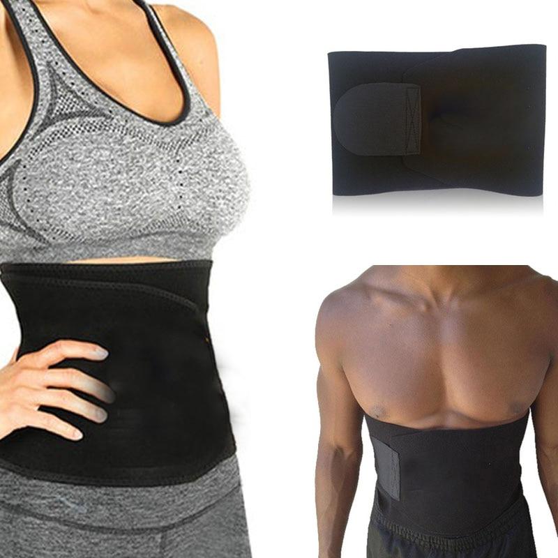 30c0a21b738 Adjustable Waist Trimmer Exercise Belt Slimming Belt Fat Burner Body ...
