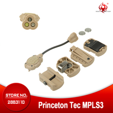 야간 진화 헬멧 라이트 Tec MPLS3 조명 시스템 레드 그린 라이트 빠른 MICH 전술 헬멧 Flahslight NE05015