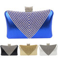 Handmade Style Rhinestones Women Evening Bags Small Messenger Purse Day Clutches Wallet Bags