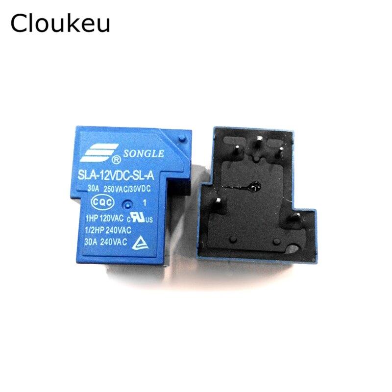 все цены на Relay DIP5 SLA- 05VDC 12VDC 24VDC 48VDC-SL-A 5V 12V 24V 48V 30A SL-A онлайн