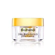 Bio essence face cream Day + Night cream Double 24K Gold + Platinum Essence Repair  Moisturizing anti-wrinkle