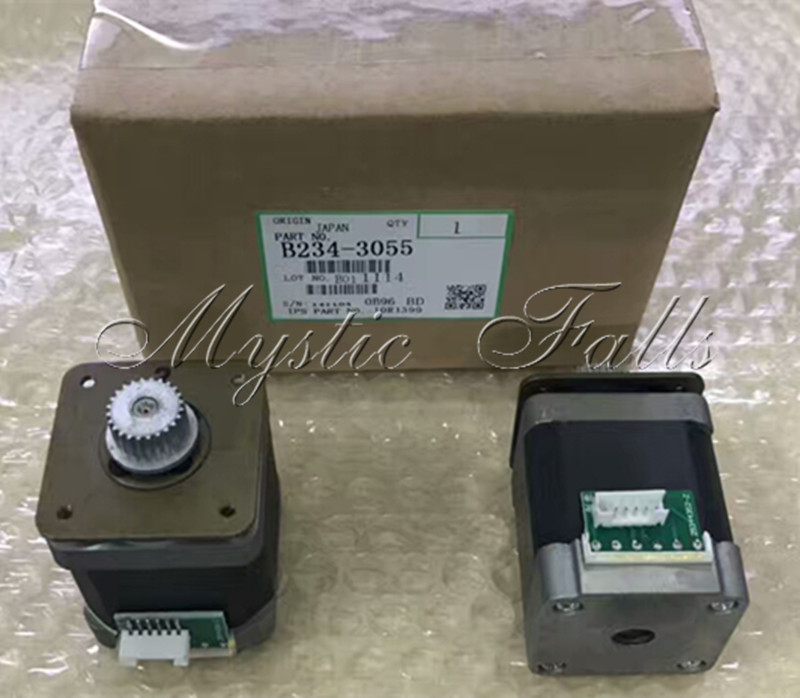 2X Genuine MP1100 MP1350 MP9000 DC Stepper Motor - 12.6Volt - 12.6 Watt for Ricoh Aficio MP 9000 1100 1350 B234-3055 B2343055 цены