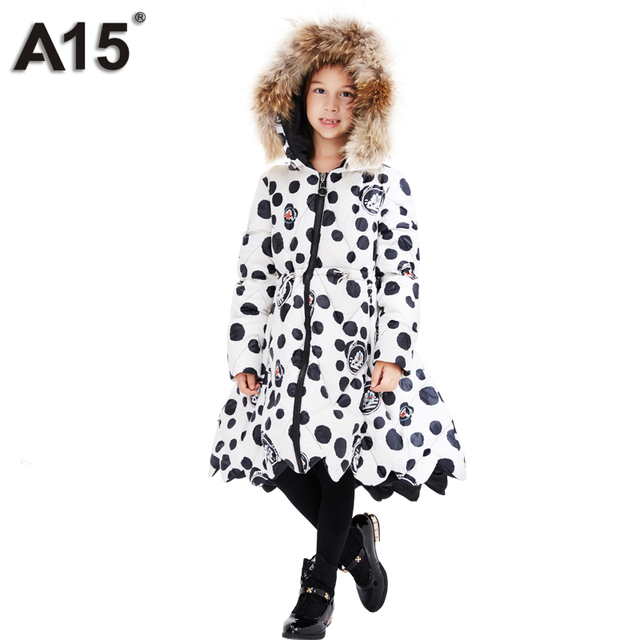 Aliexpress.com : Buy A15 Children Winter Jackets for Girls Kids ...