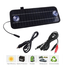 12v 4.5w Portable Monocrystalline Solar Panel Cell Module System For Car Boat Motorcycle Maintainer Power Battery Charger