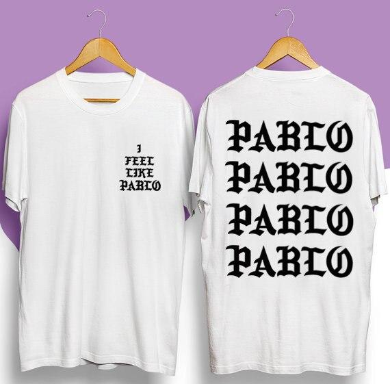 2016 BGOD JAY-Z NEW COOL KANYE WEST I FEEL LIKE PABLO YEEZUS Clothing T Shirt High Quality