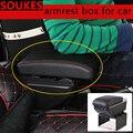 Автомобиль модификация передвижной центральной консоли подлокотник коробка для Ford ranger Mondeo Kuga Fiat 500 Abarth Nissan ashai J11 J10 Juke Jeep