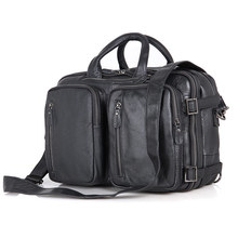 100% Guarantee Genuine Leather Briefcase Handbag Laptop Bag For Men 7014A