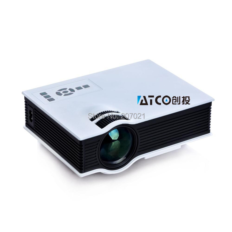Genuine uc40 mini projector hd 3d multimedia led mini for Where to buy pocket projector
