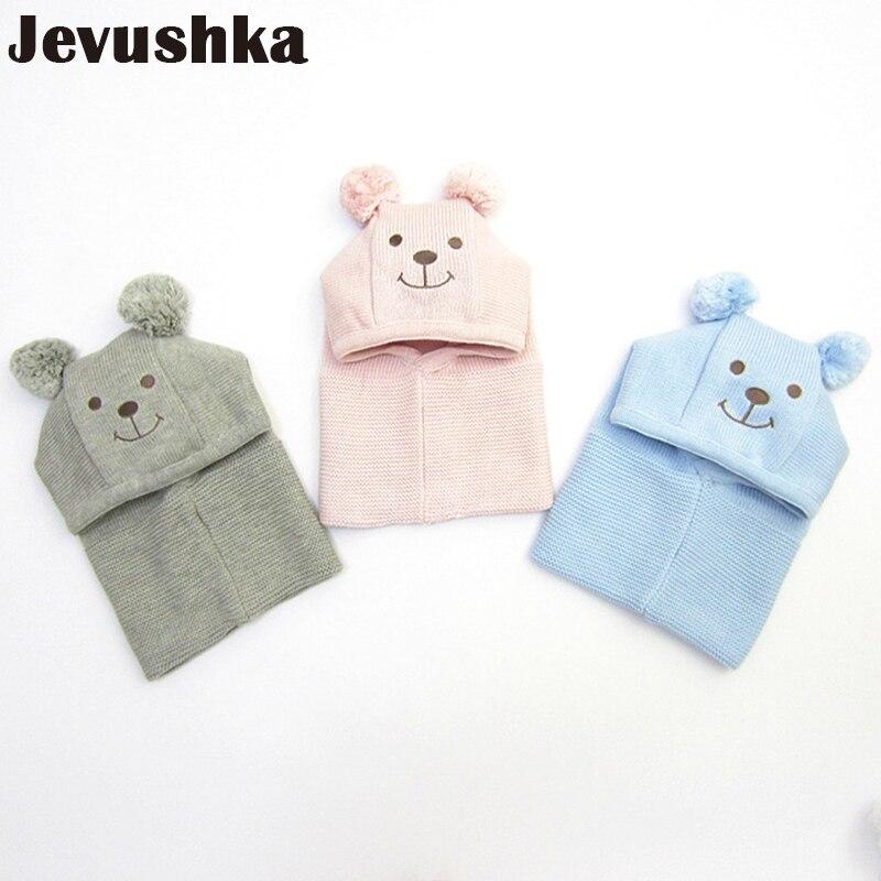 b27d4367 Winter Warm Knit Baby Girls and Boys Pompom Hat with Warm Fleece Lining  Cute Bear Ears Hats for Kids Beanie Gorro | AMAZINGSTORE4U