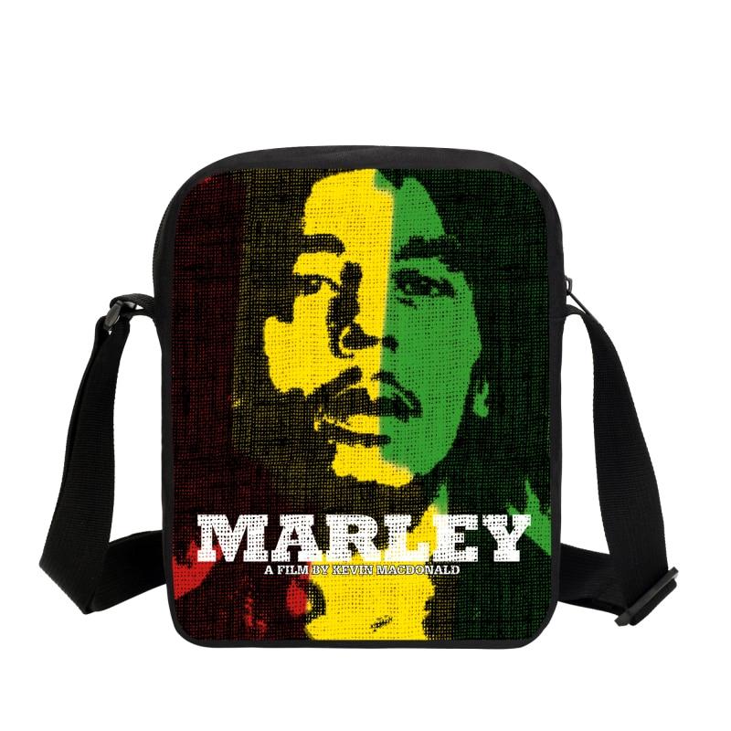 2019 Music Star Reggae Bob Marley Personaje Impreso Bolsas de - Bolsos - foto 2