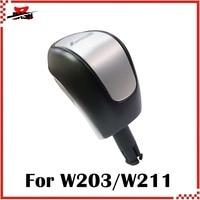DASH livraison gratuite pommeau de levier de vitesse pour W203 W211 L type (2217358 S)