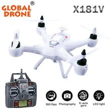 Global X181V 2.4G transmisor Rc Drone Quadcopter Drone drone gran quadcopter con cámara profesional VS X5SC