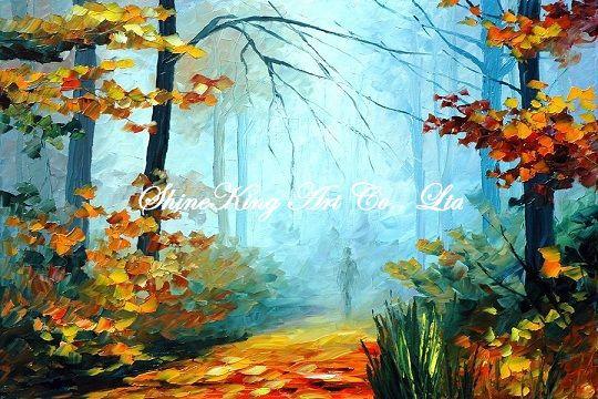 palette font b knife b font oil painting modern oil painting canvas oil painting K162