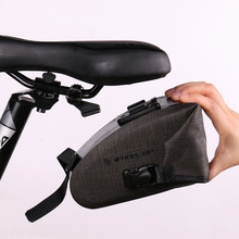 High Quality Bicycle Bike Waterproof Storage Saddle Bag Seat Cycling Tail Rear Pouch Bag Bicycle Accessories TD300651