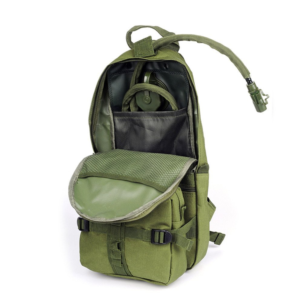 87b4d2f872e Beste Koop Draagbare Molle Tactical Hydratatie Rugzak 2.5L Water Bag voor  Camping Wandelen Fiets Blaas Bag Survival Emergency Militaire Goedkoop.