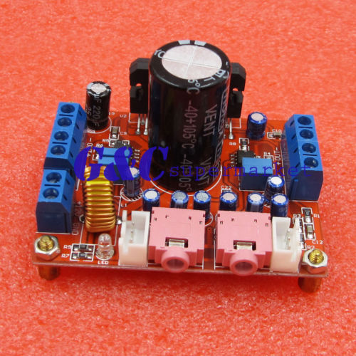 Best Offers TDA7850 4X50W Car Audio Power Amplifier Board Module BA3121 Denoiser DC 12V