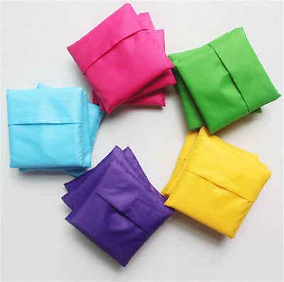 2 reusable folding shopping