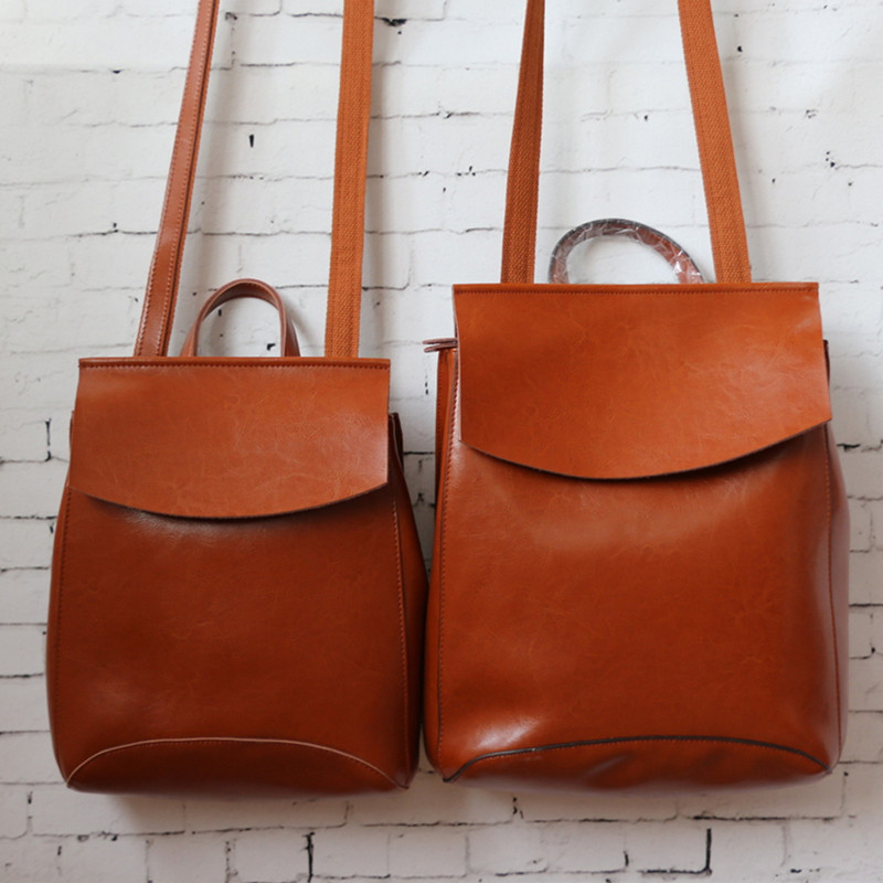 Online Buy Wholesale leather backpack purse from China leather ...