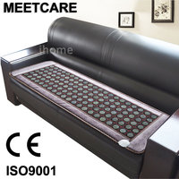 New Heating Jade Stone Infrared Massage Sofa Cushion with Temperature Display Bed Sofa Mattress Health Care Germanium Stone Mat