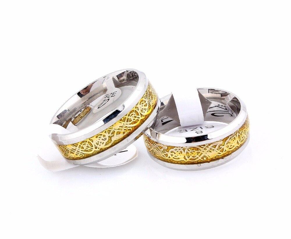 Aliexpress.com : Buy Wholesale 12Pcs Gold&Silver Celtic Dragon ...