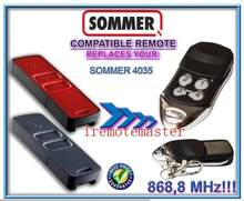 FOR SOMMER 4035 garage door remote 868,3MHZ Very good(China)