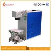 10w fiber laser marking machine marking on metal fiber diy engrave machine free shipping to Russia