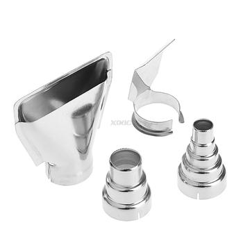 4 sztuk opalarka dysze powietrza zestaw elektryczny akcesoria narzędzia przemysłowe folia termokurczliwa A25 Dropshipping tanie i dobre opinie BENGU for heat gun welding nozzles